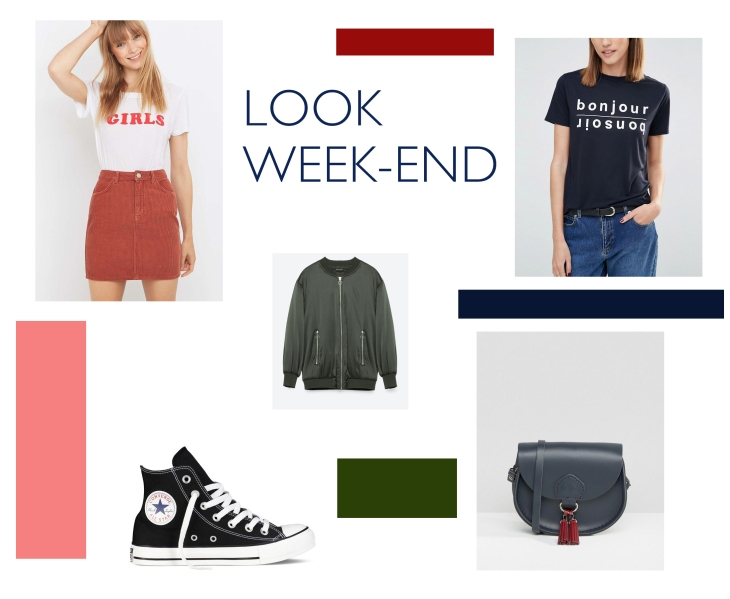Wishlist look week-end pour la rentrée / A Cardaboard Dream blog