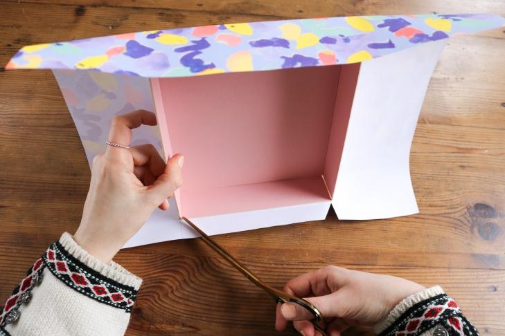 DIY // Fabriquer des jolies boîtes // How to make cute boxes // A Cardboard Dream blog