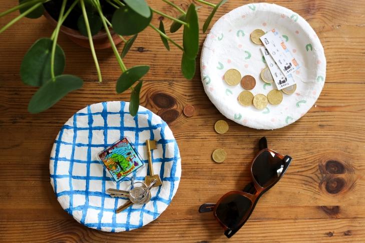 DIY // Fabriquer des vide-poches en plâtre // A Cardboard Dream blog